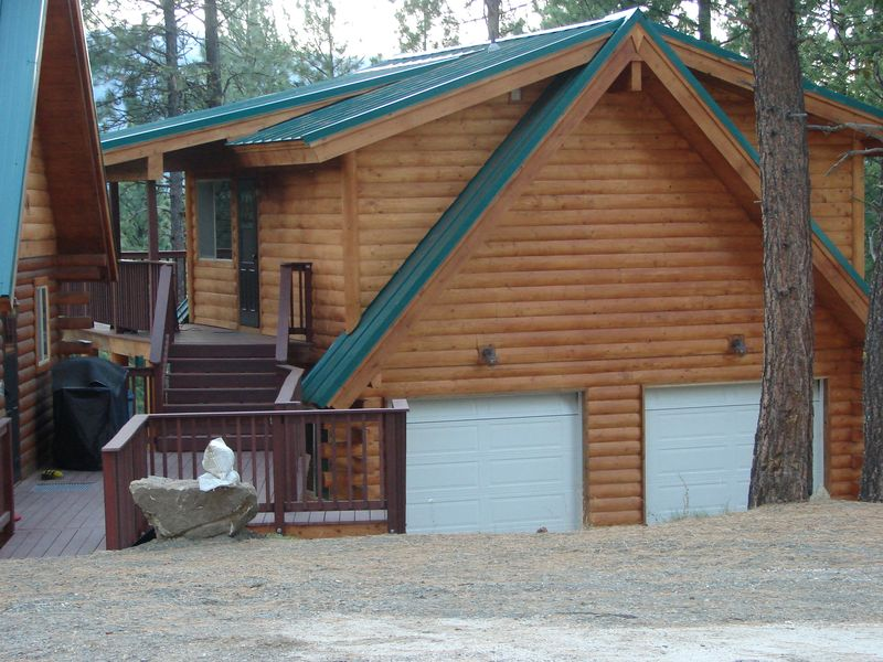 Vista Log Home Garage Suite By Avalon Log Homes Avalon